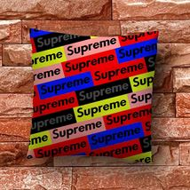 Supreme Logo Bomb Throw Pillow Case Decorative Cushion Cover - $11.90