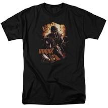 Ninjak T Shirt Valiant Comics X-O Manowar Unity black graphic tee shirt VAL191 image 1