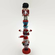 Kurt Adler Soldier Snowman & Santa Nutcracker Stacker  - $32.98