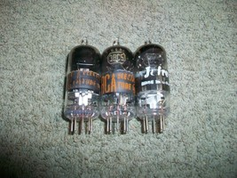 Vintage Lot of 3 3BC5 Tubes Test Good to Strong Made in USA  - $8.90