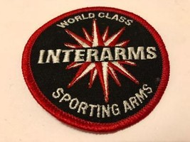 """World Class INTERARMS Sporting Arms Embroidered Patch 3"""" - $9.85"""