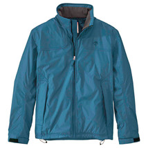 Timberland Men's MT. Crescent Fleece Lined Waterproof Teal Blue Jacket 8... - $69.99