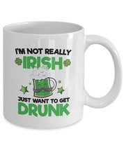 St. Patrick's Day Coffee Mug - Great Gift Ideas For St. - $13.95