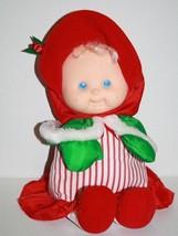 Puffalump Kids Christmas Baby Doll Fisher Price 1992 Plush Red Dress Sof... - $29.96