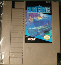 Silent Service NES Nintendo Entertainment System 1989 Tested Works Great  - $7.49