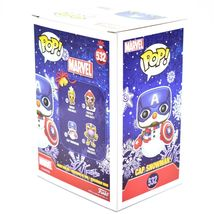 Funko Pop! Marvel Christmas Holiday Cap Snowman Captain America #532 Figure image 4