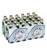 S.Pellegrino - Sparkling Natural Mineral Water - Case of 24 Glass Bottle - $69.25