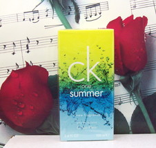 CK One Summer By Calvin Klein 2010 Edition EDT Spray 3.4 FL. OZ. NIB - $179.99