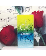 CK One Summer By Calvin Klein 2010 Edition EDT Spray 3.4 FL. OZ. NIB - $159.99