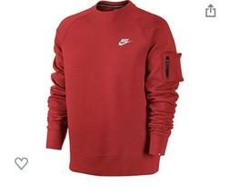 Nike Rojo As Sudadera de Polar Nuevo con Etiquetas - $44.53