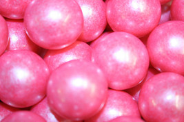 Gumballs Shimmer Bright Pink 25mm Or 1 Inch (285 Count), 5LBS - $32.30