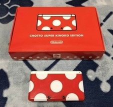 Club Nintendo Japan Chotto Super Kinoko Edition 3DS limited super mario W/Box - $390.06