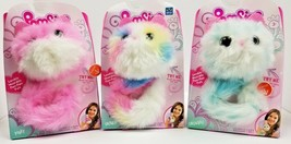 Pomsies Lot of 3 PINKY - SHERBET - SNOWBALL New Set Light Up 2018 Hot To... - $55.75