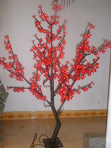 5 Ft 480 pcs red Light LED Cherry Blossom Tree Wedding Holiday party decor  - $334.00