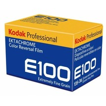 2 pack Kodak Professional Ektachrome E100 Color Transparency Film 35mm 36exp  - $34.55