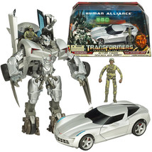 TRANSFORMERS ROTF SIDESWIPE TECH SERGEANT EPPS HUMAN ALLIANCE ACTION FIG... - $51.90