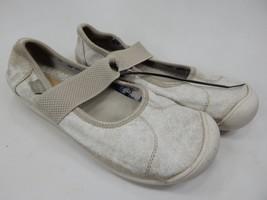 Keen Sienna Mary Jane Size US 7 M (B) EU 37.5 Women's Canvas Shoe Gray 1017117