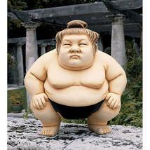 "12"" Medium Japanese Sumo Practitioner Wrestler Asian Martial Arts Garden... - $87.07"