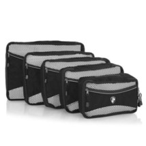 Heys Ecotex Packing Cube 5pc Set Grey Travel Ac... - $49.99