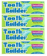 Squigle Tooth Builder Sensitive Toothpaste, SLS Free, Fluoride Free, Pre... - $33.82