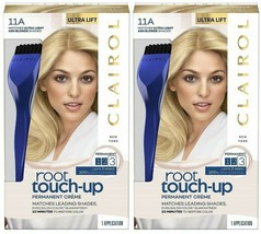 (2 Pack) Clairol root touch-up Permanent Hair Color | 11A Ultra Light As... - $19.79