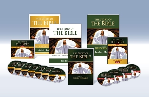 The story of the bible vol. ii   the new testament  complete set