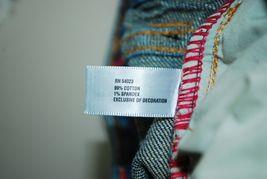 Gap Kids Girl's Jeans Size 4 Regular - 99% Cotton Embroidered Back Pockets Pink image 7