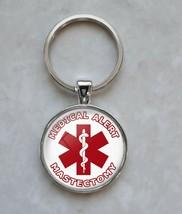 Mastectomy Medical Alert Keychain - $14.00+