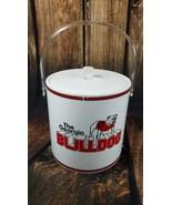 Georgia Bulldogs Vintage Ice Bucket Insulated Tailgate Man Cave Dawgs UG... - $57.27