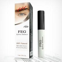 FEG Eyebrow Enhancer Rapid Growth Serum ~100% Natural~USA ~Super Fast Sh... - $23.80