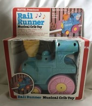Rail Runner Musical Crib Baby Train Toy Mattel Preschool 1979 In Origina... - $29.69