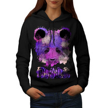 Purple Panda Splash Sweatshirt Hoody Bear Color Women Hoodie - $21.99+