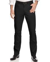 Alfani Federal Blue Slim-Fit Cotton Stretch Flat Front Pants - 30x30 - $15.95