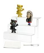 Acrylic Riser Stand Shelf Amiibo Funko Pop Figure Display Toy Organizer ... - $26.00