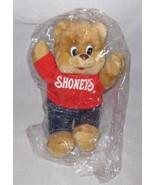 "GREAT Vintage 13"" Cloth Shoney's Restaurant Ad Bear - $38.52"