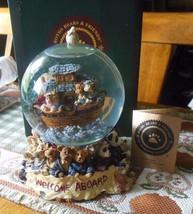 Boyds Bears Bearstone Musical Waterglobe Mr. & Mrs. Noah and Co.-#270505 - $73.25