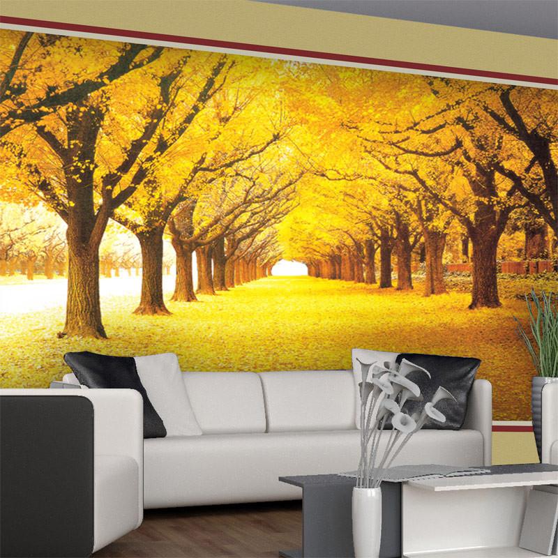 DIY 3D Wall Murals Autumn Trees and 48 similar items