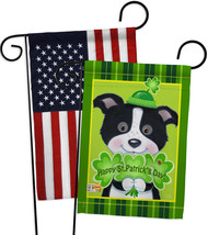 St. Pat's Puppy - Impressions Decorative USA - Applique Garden Flags Pac... - $30.97