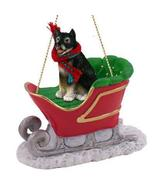 Alaskan Malamute Sleigh Ride Ornament - $17.99