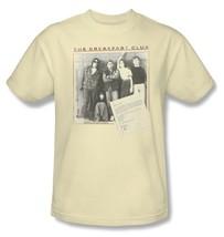 Breakfast Club T-shirt Free Shipping retro 80's movie cotton beige tee UNI362 image 2