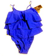 Alicia Simone Royal Blue Tank One Piece Swimsuit Size 10 NWT  - $47.49