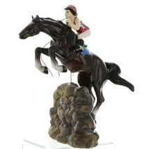 Hagen Renaker Specialty Horse Jumping with Rider Ceramic Figurine image 12