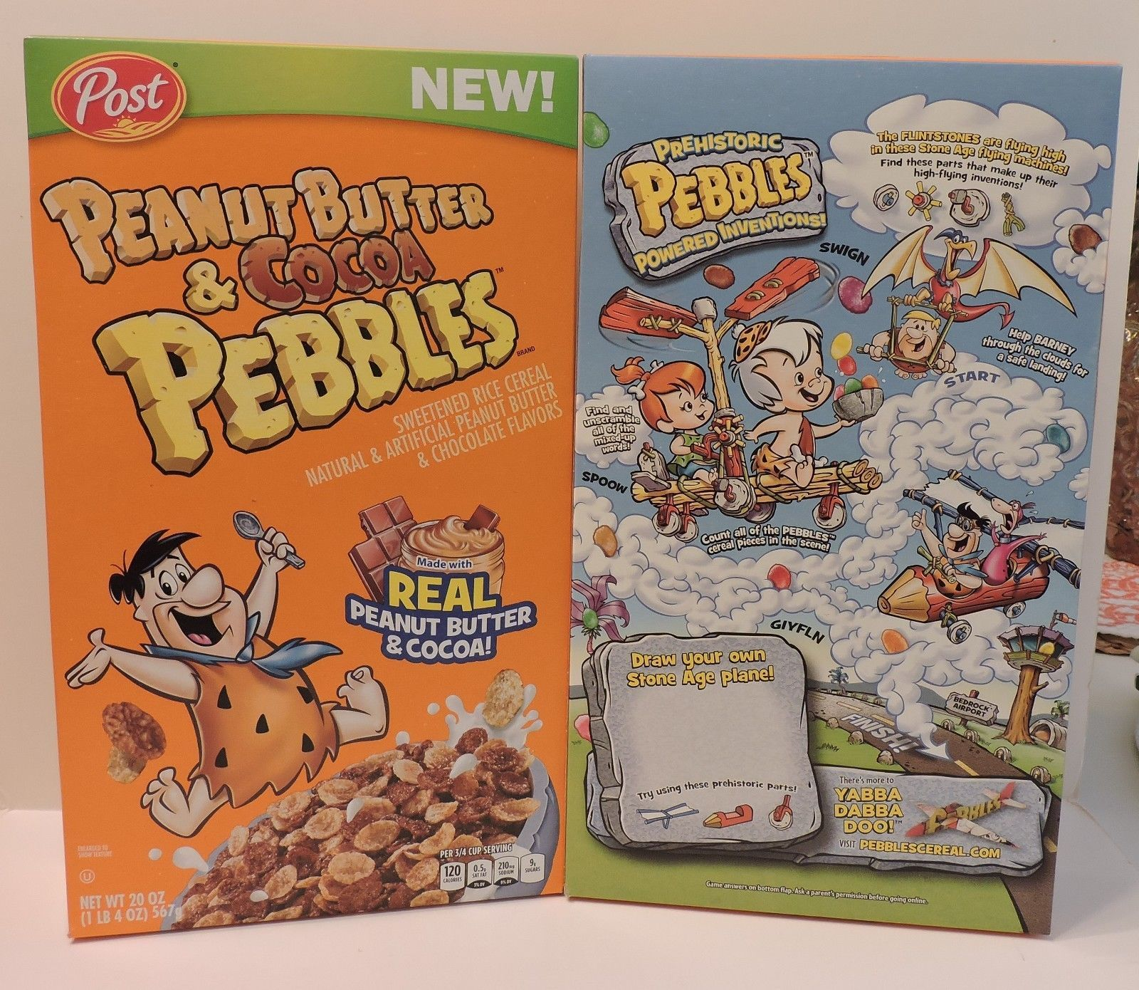 2018 P EAN Ut Butter & Cocoa Pebbles Special and 50 similar items