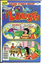 Laugh #373 1982-Archie-Betty-Veronica-giant boom box-FN - $18.62