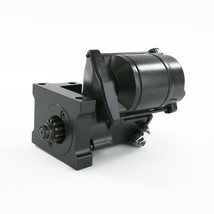 SB BB V8 Staggered Mount 1.9 HP Mini Starter Compatible with Chevrolet All Black