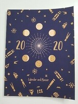 2020 Lunar Planets Monthly Weekly Hourly Calendar Planner Agenda Log To ... - $10.99
