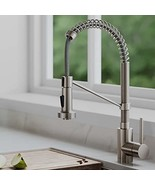 Kraus KPF-1610SFS Bolden 18-Inch Commercial Kitchen Faucet with Dual Fun... - $183.99