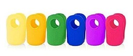 Classic Cozy Silicone Cover for 4 oz Glass Baby Bottle (6 pack) Evenflo - $29.69