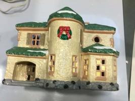 Snow Village Palos Verdes Vintage Retired Collectible Christmas Figurine, 1988 - $40.00