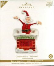 2011 Hallmark Keepsake Ornament - Countdown to Christmas Clock - Santa M... - $10.88